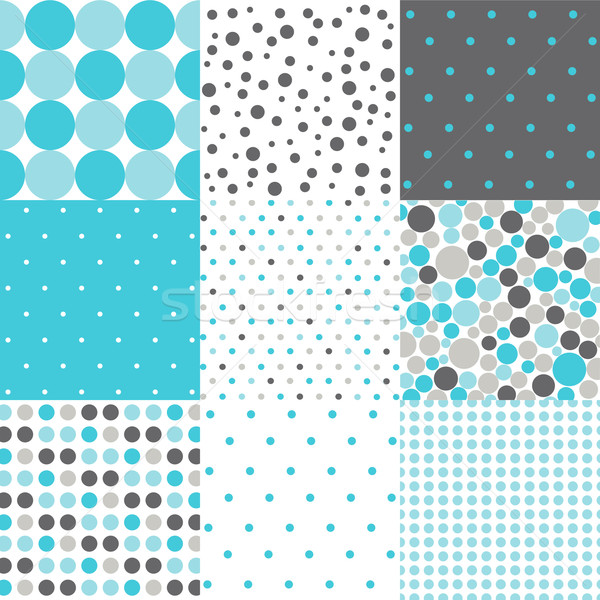 Seamless Patterns - Digital Scrapbook Stock photo © lemony