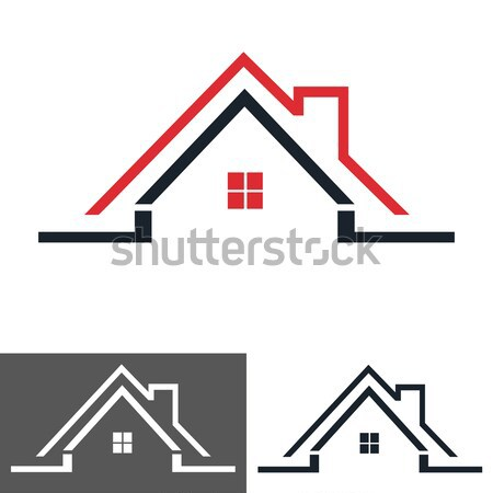 house home logo, icon vector illustration © DIDEM HIZAR ...
