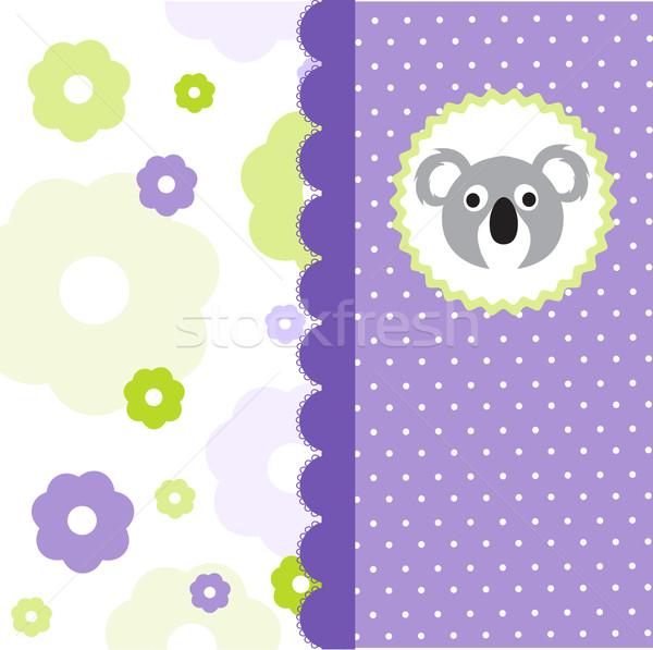 Baby Shower Invitation Stock photo © lemony