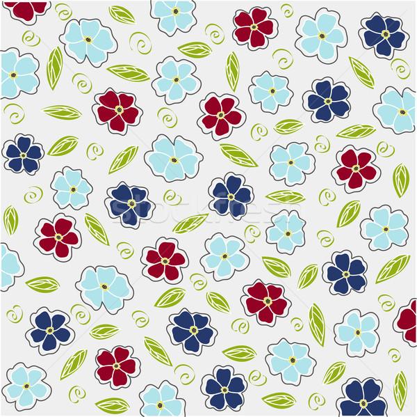 Wenskaart textuur voorjaar ontwerp achtergrond Stockfoto © lemony