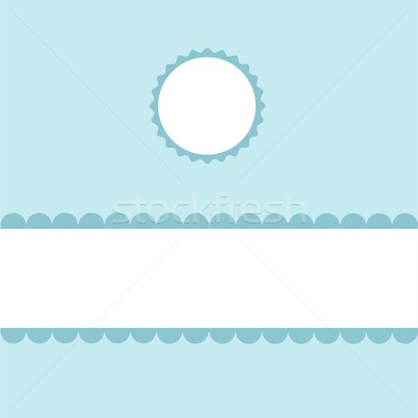 Stock photo: Seamless pattern, wallpaper