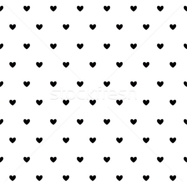 Sevgililer günü kart kalpler el sevmek dizayn Stok fotoğraf © lemony