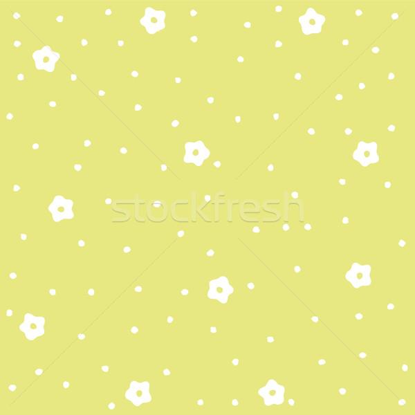 Naadloos bloemen textuur abstract achtergrond Stockfoto © lemony