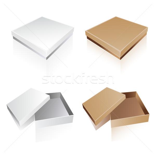 Gift boxes Stock photo © lemony