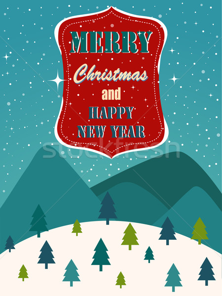 Neşeli Noel doku mutlu dizayn arka plan Stok fotoğraf © lemony