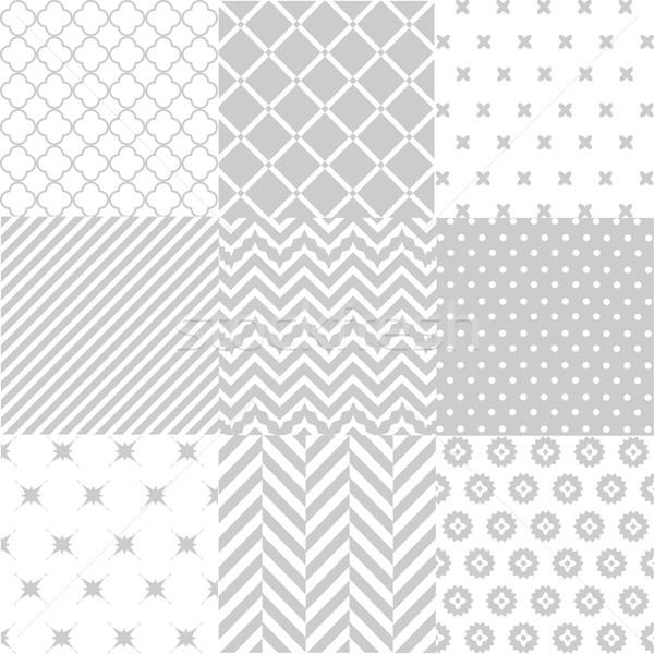 Weefsel textuur papier meisje abstract Stockfoto © lemony