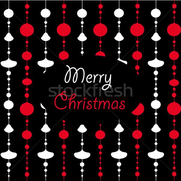 Vrolijk christmas textuur abstract Blauw weefsel Stockfoto © lemony