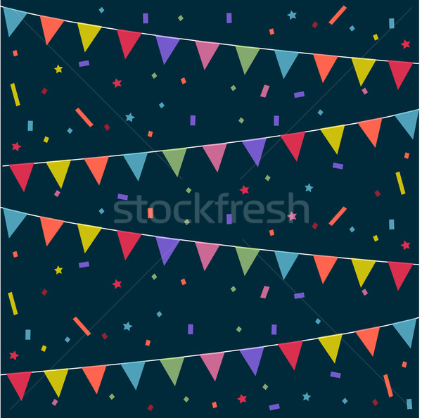 Party, festive background Stock photo © lemony