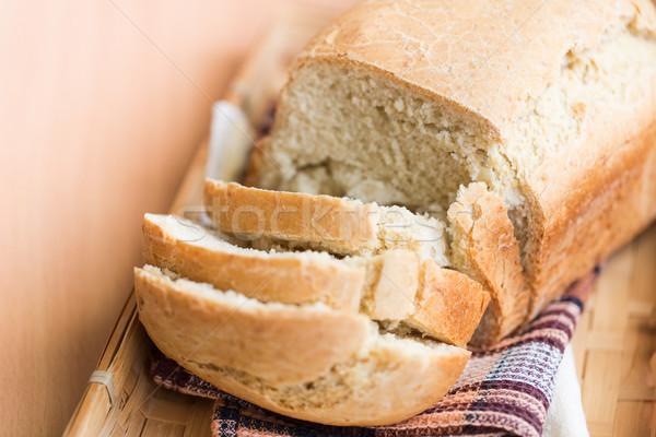 Pain blanc pain vie Photo stock © Len44ik