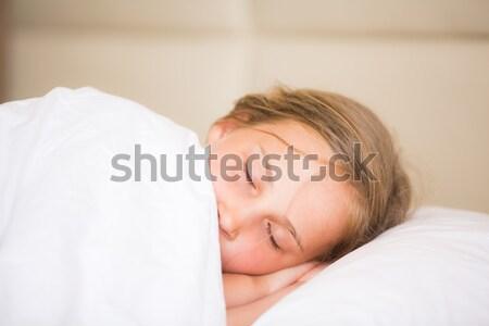 Adorable little girl sleeping Stock photo © Len44ik