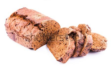 Fresh  sliced homemade whole grain brown bread with cereals  Stock photo © Len44ik