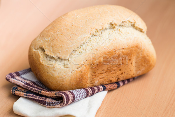 Freshly baked white bread Stock photo © Len44ik