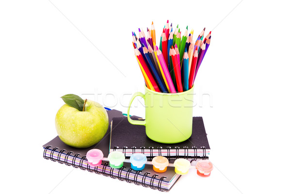 School and office stationary. Back to school concept Stock photo © Len44ik
