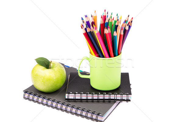 Stock photo: School and office stationary. Back to school concept