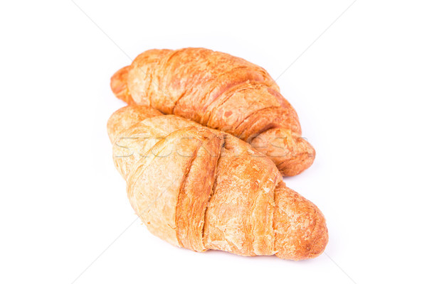 Fresh and tasty French croissants Stock photo © Len44ik