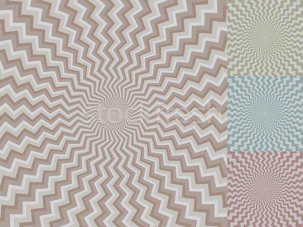 Zigzag streep vector kleur achtergrond Stockfoto © lenapix