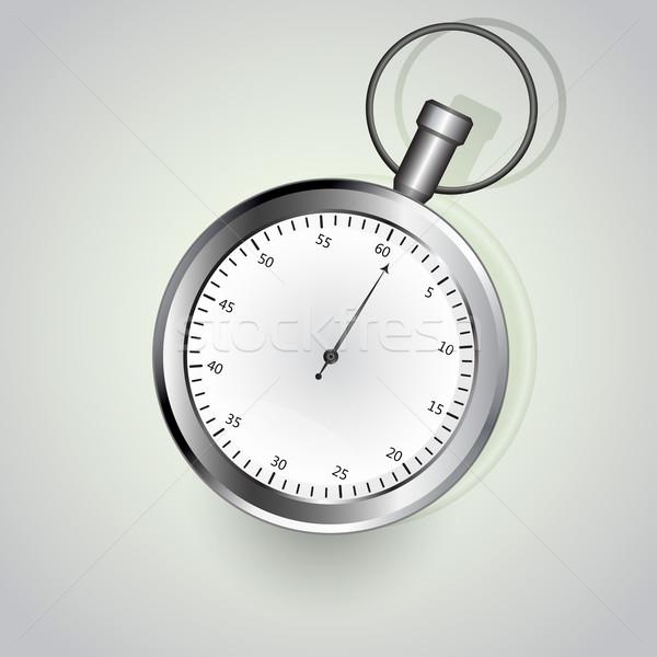 Kronometre yalıtılmış beyaz spor hızlandırmak izlemek Stok fotoğraf © lenapix