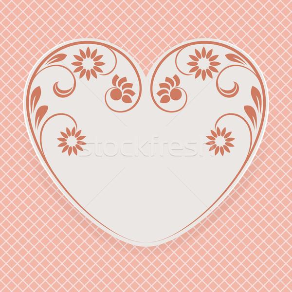Валентин день формы сердца вектора карт секс Сток-фото © lenapix