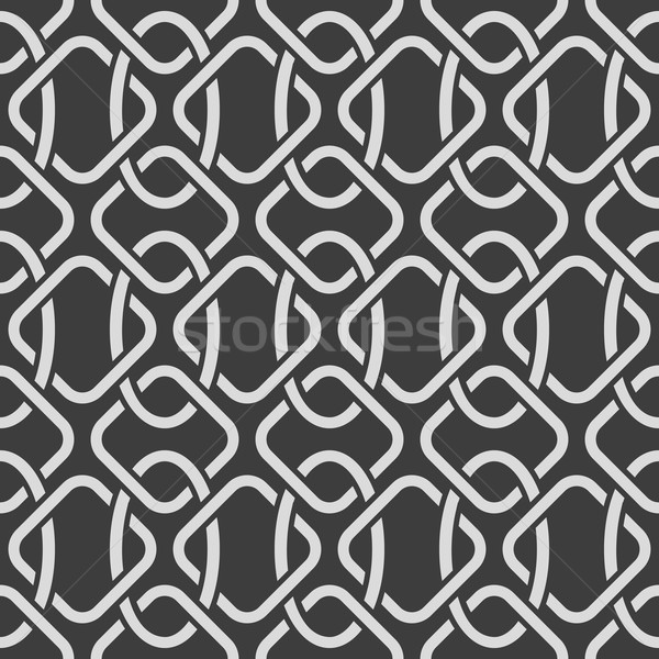 Abstract seamless oriental ornate vector pattern. Stock photo © lenapix