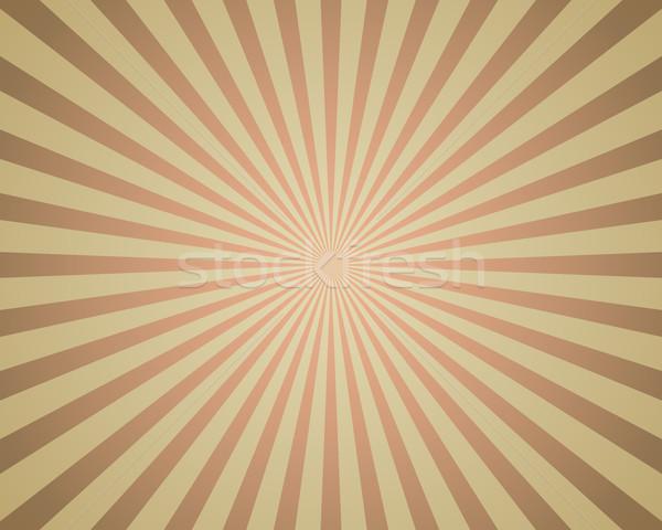 Vintage colored rays background. Stock photo © lenapix