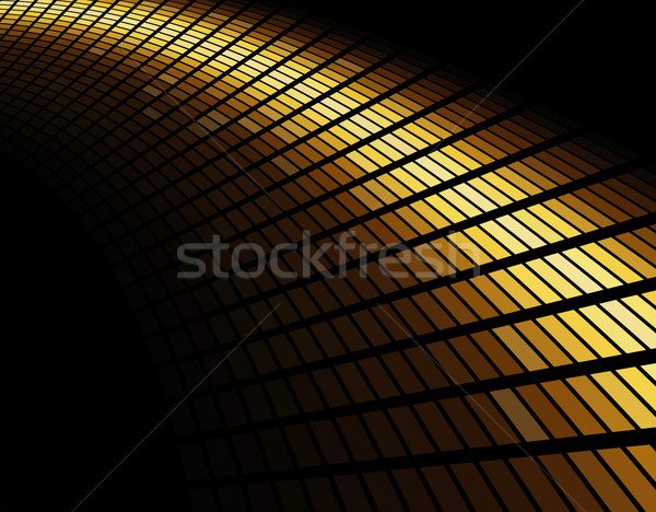 Abstract gold colored mosaic background. Stock photo © lenapix