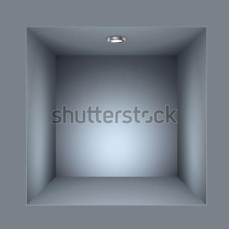 квадратный шельфа вектора шаблон аннотация Сток-фото © lenapix