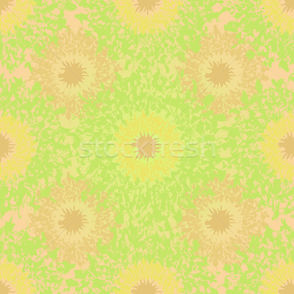 Abstract seamless light green summer background. Stock photo © lenapix