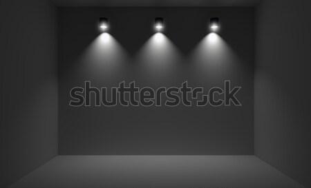 небольшой комнату три 3D Сток-фото © lenapix