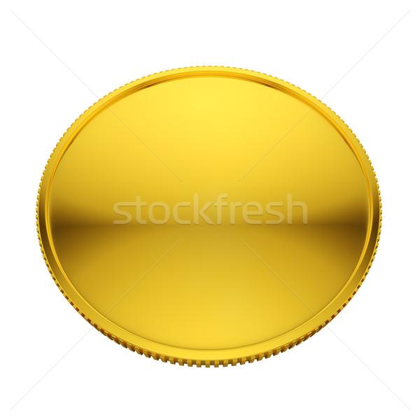 монеты изолированный белый деньги знак Сток-фото © lenapix