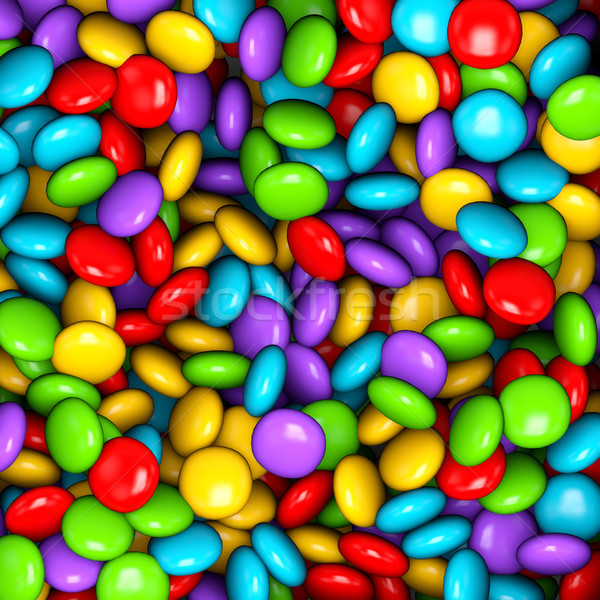 Small colorful candy background. Stock photo © lenapix