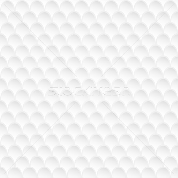 Abstract white wall s scaly vector background. Stock photo © lenapix