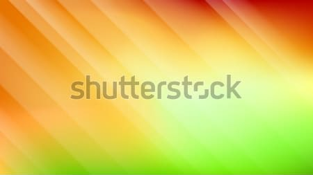Abstract colorful yellow and green vector background. Stock photo © lenapix