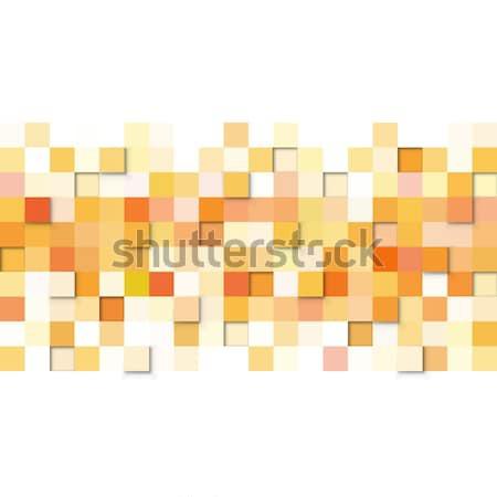 аннотация желтый оранжевый вектора белый Сток-фото © lenapix