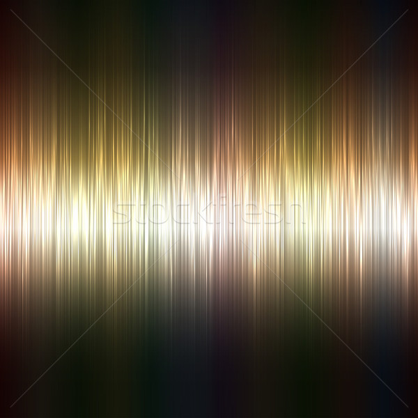 Metallic highlight stripes dark vector background. Stock photo © lenapix