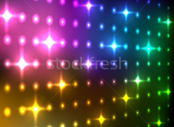 Abstract kleurrijk licht muur vector Stockfoto © lenapix