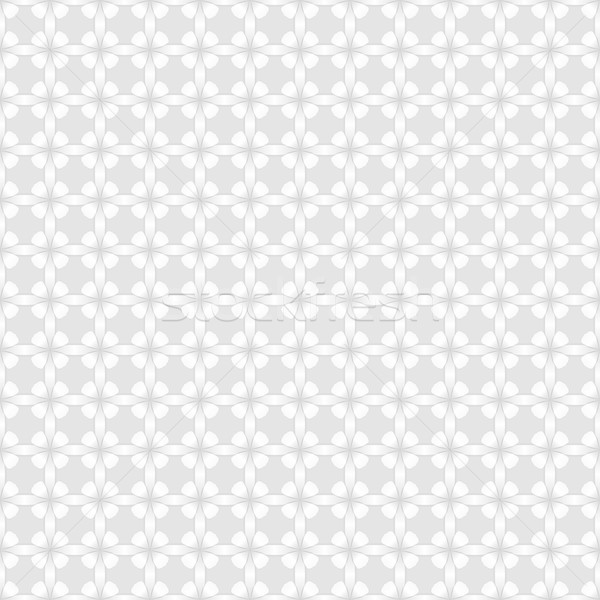 Abstrato branco parede flor padrão vetor Foto stock © lenapix