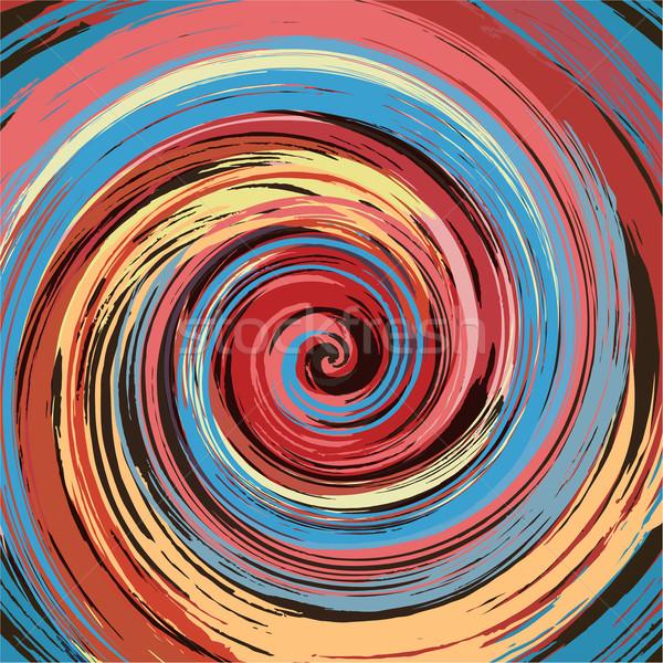 Abstract kleurrijk verf swirl vector licht Stockfoto © lenapix