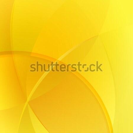 Abstract giallo colorato vettore luce sfondo Foto d'archivio © lenapix