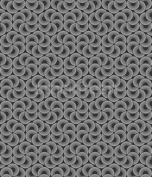 аннотация бесшовный черно белые Круги вектора искусства Сток-фото © lenapix