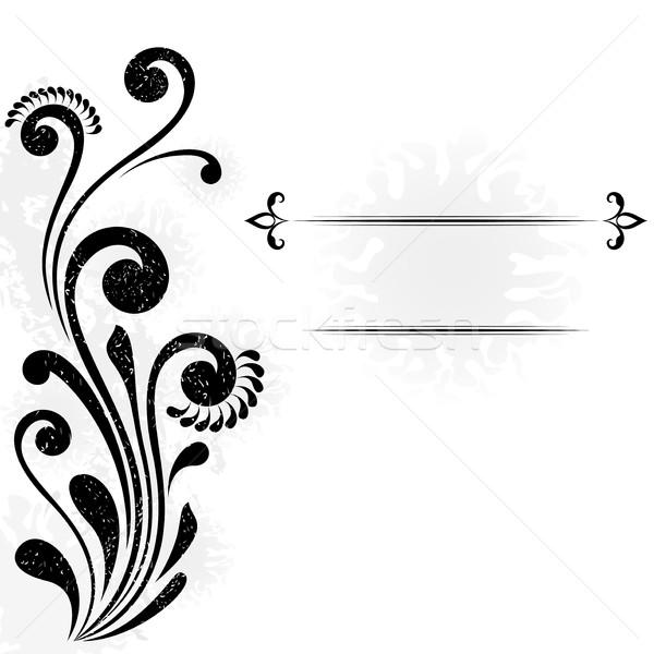 Abstract vettore floreale copiare copia spazio Foto d'archivio © lenapix