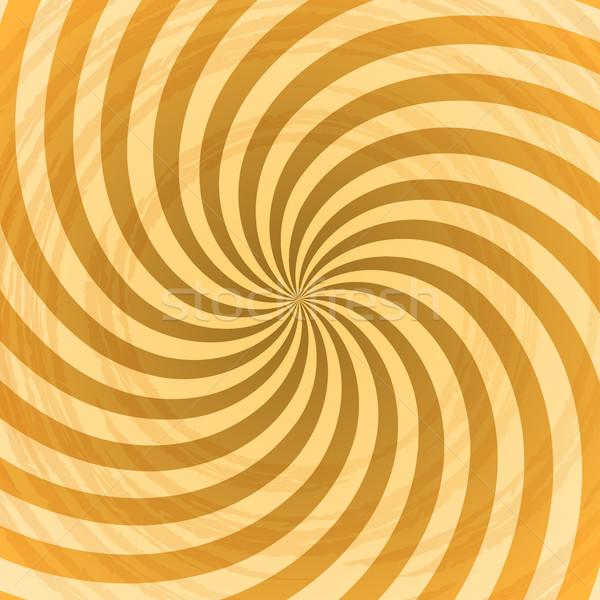Abstrato amarelo redemoinho vetor luz Foto stock © lenapix