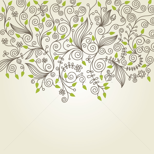 Stock photo: floral illustration