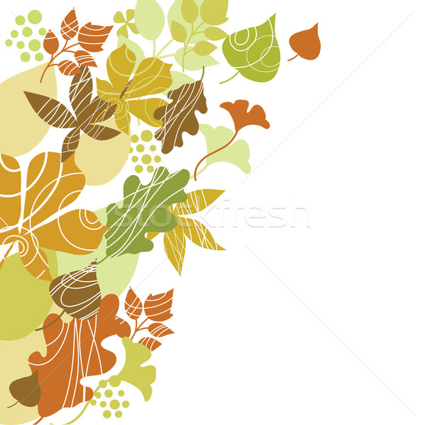 autumn background  Stock photo © Lenlis