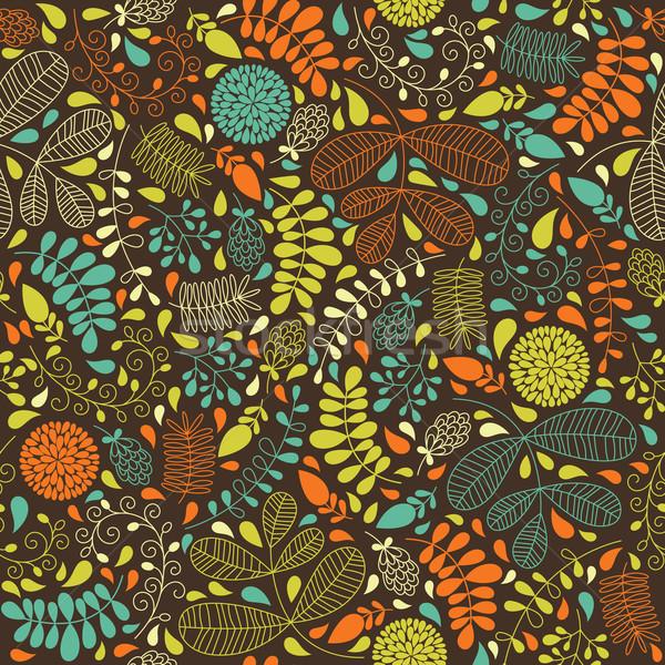 Naadloos patroon textuur ontwerp tuin Stockfoto © Lenlis