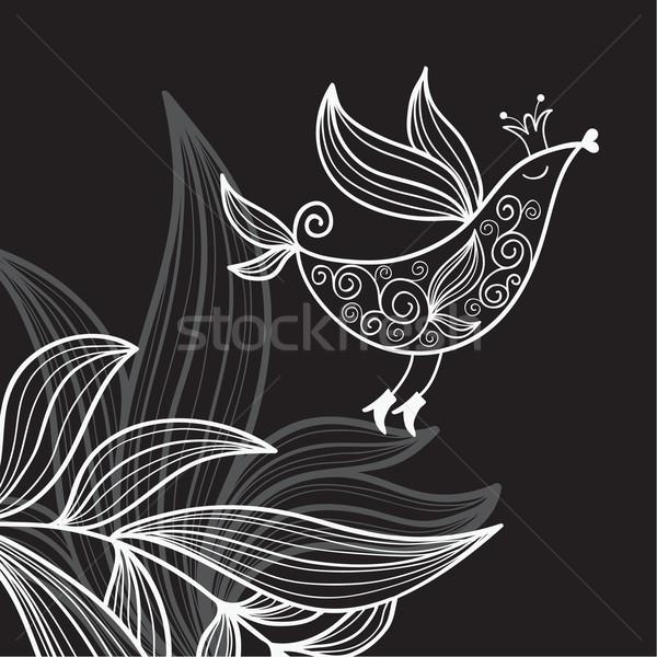 フローラル 実例 鳥 花 自然 歳の誕生日 ストックフォト © Lenlis