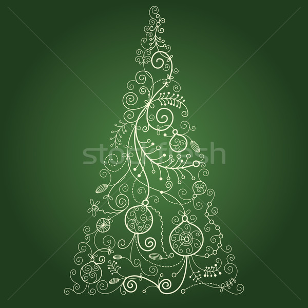 Christmas-tree  Stock photo © Lenlis