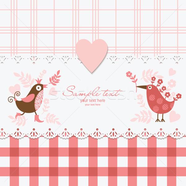 Greeting card  Stock photo © Lenlis