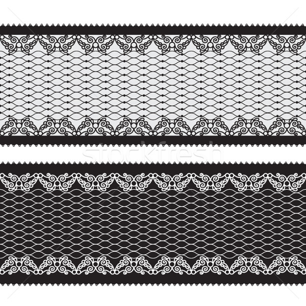 seamless lacy ribbon  Stock photo © Lenlis