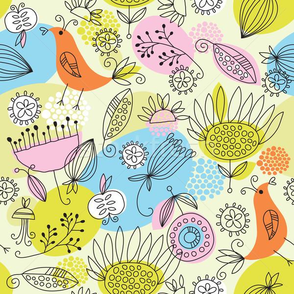 seamless pattern Stock photo © Lenlis
