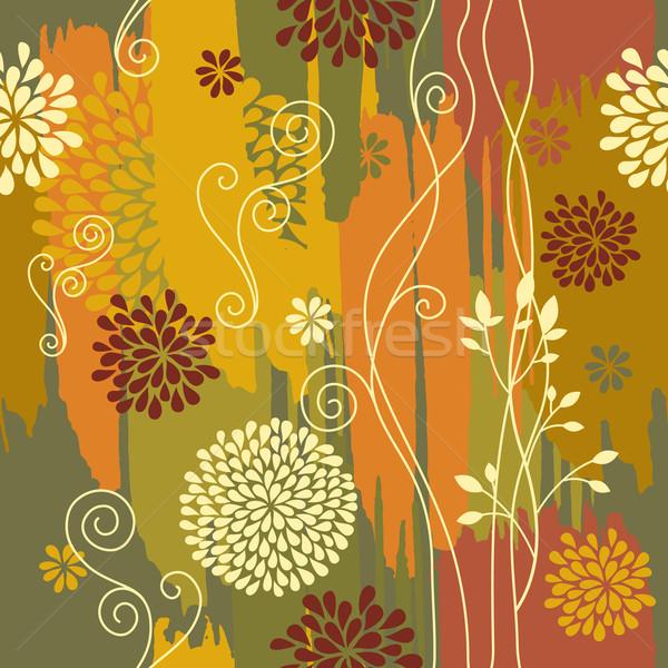 ツリー 抽象的な 葉 背景 美 ストックフォト © Lenlis